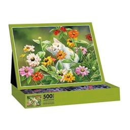 LANG Please Don't Eat The Zinnias by Susan Bourdet Jigsaw Puzzle (500-Piece)