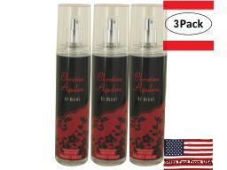 3 Pack Christina Aguilera By Night by Christina Aguilera Fragrance Mist 8 oz for Women