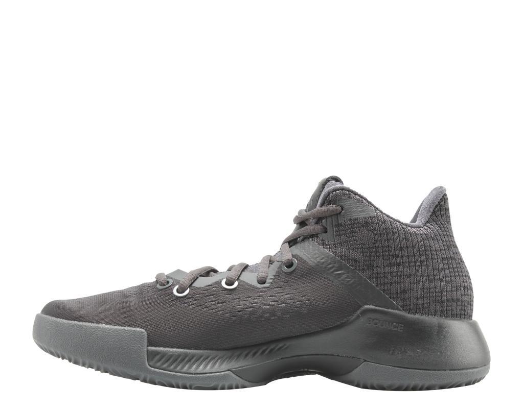 c2516a45b Adidas Adidas Mad Bounce J Black Black Grey Big Kids Basketball Shoes  DB0853