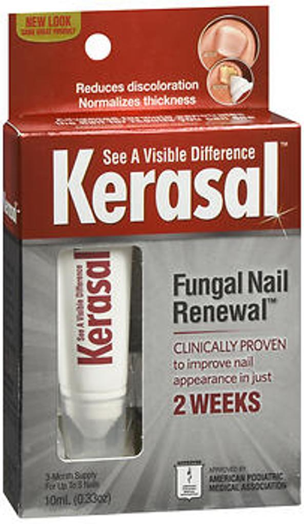 Kerasal Kerasal Nail Fungal Nail Renewal Treatment - 0.33 oz ...