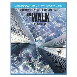 Walk (blu-ray/3d/2015/ultraviolet/2 disc) (3-d) BR46397