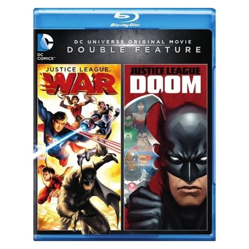 Dcu justice league-doom/dcu justice league-war (blu-ray/dbfe) 0CX7AWQVRTAQXQWY