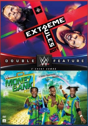 Wwe-extreme rules/money in the bank 2017 (dvd/dbfe/2 disc) postponed 6/26 1298625