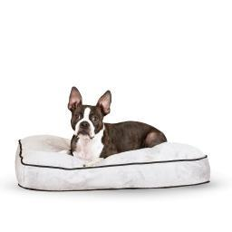 K&H Pet Products 7412 Gray K&H Pet Products Tufted Pillow Top Pet Bed Medium Gray 27 X 36 X 7.5