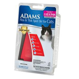 Adams plus 100538055 adams plus flea and tick spot on cats over 5 lbs. 3 month s