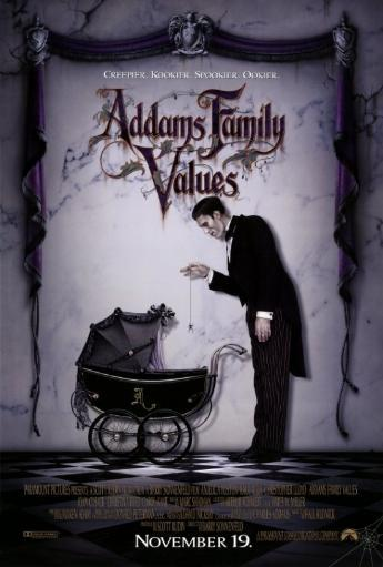 Addams Family Values Movie Poster Print (27 x 40)
