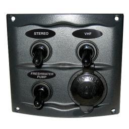 Bep 900-3Wps Bep 900-3Wps 3 Gang Switch Panel With Accesory Plug