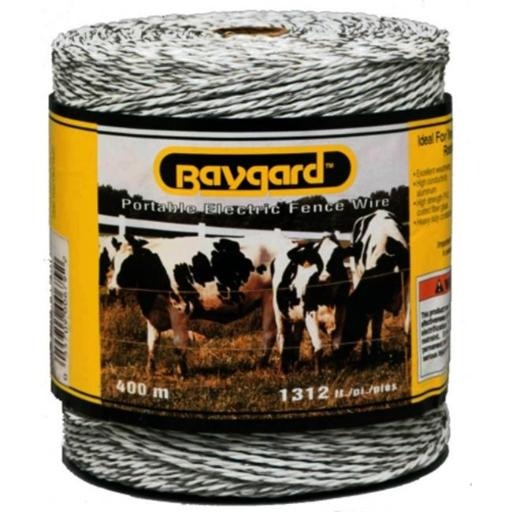 Parker Mccrory 1 312ft. White Portable Electric Fence Wire 00679
