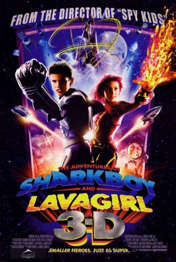 The Adventures of Shark Boy & Lava Girl in 3-D Movie Poster Print (27 x 40) WFBS5BQKS6626N1P