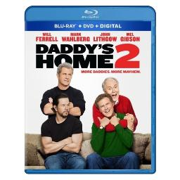 Daddys home 2 (blu ray/dvd w/digital hd combo) BR59195054