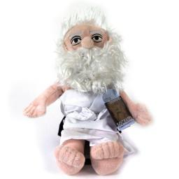 Socrates Little Thinker Plush Doll Philosophy Novelty Greece Funny Gift