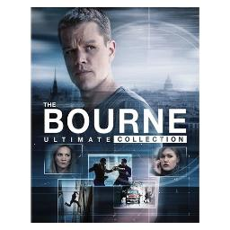 Bourne ultimate collection (blu ray w/digital hd) (6discs) BR61182523