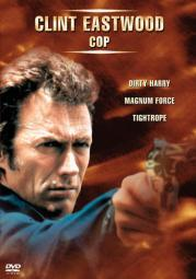 Eastwood-cop gift set (dvd/3 disc/dirty harry/magnum force/tightrope)nla D28902D