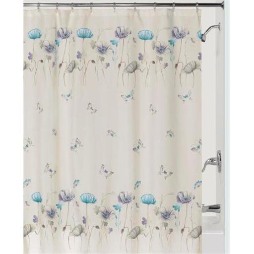 Garden Gate Shower Curtain - Purple