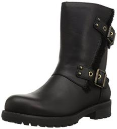 UGG Women's Niels Zippered Boot, Black, 5 M US