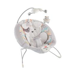 Fisher-price my little snugapuppy deluxe bouncer white dth04