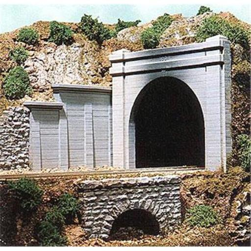 Chooch CHO8330 HO Scale Double Track Concrete Tunnel Portal