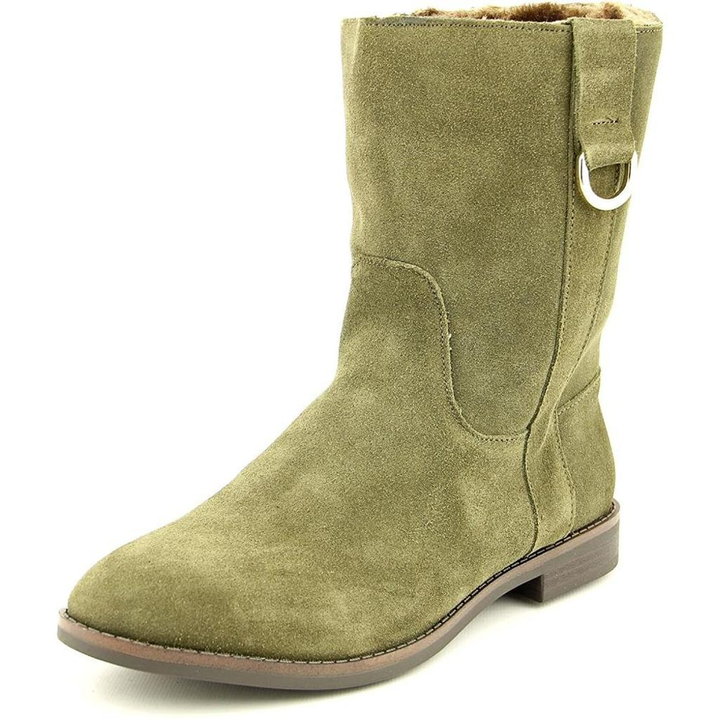 Alfani Women's Anconaa Round Toe Suede Ankle Boot