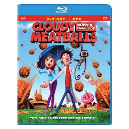 Cloudy with a chance of meatballs (blu-ray/dvd/2 disc/ws 2.35/dd 5.1) BR21566