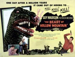 The Beast Of Hollow Mountain 1956. Movie Poster Masterprint EVCMSDBEOFEC029HLARGE