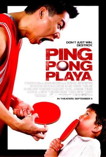 Ping Pong Playa Movie Poster (11 x 17) LTT5WBIQAFB84BQY