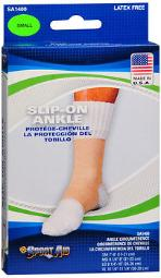Sport Aid Slip-On Ankle Support SM - 1ea, Pack of 3