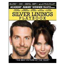 Silver linings playbook (blu-ray/dvd combo/dc/uv/2 disc) BR59723