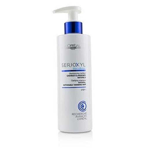 LOreal 223739 250 ml & 8.45 oz Professionnel Serioxyl GlucoBoost Clarifying Shampoo for Natural & Noticeably Thinning Hair H99UIWNLVEJNUYQ5