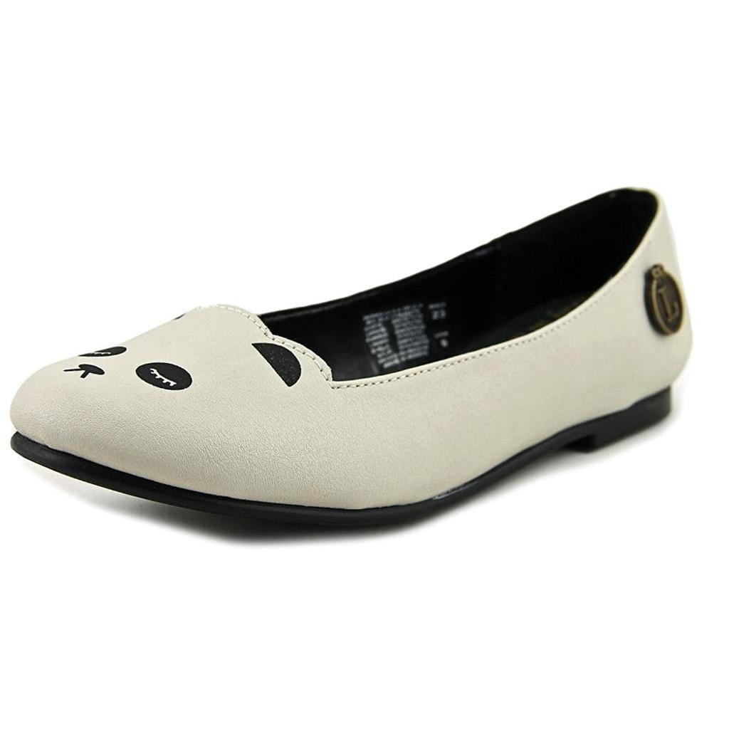 Loly in the Sky Womens Pamela Closed Toe Slide Flats