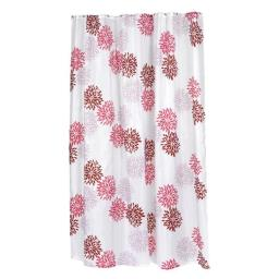 Carnation Home Fashions FSCXL-96-EMA 70 x 96 in. Emma Extra Long Fabric Shower Curtain, Multi Color