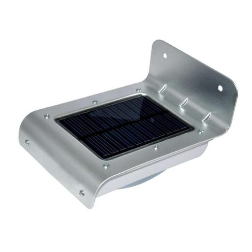 EcoGecko 86332 16 Bright LED Wireless Solar Powered Motion Sensor Light