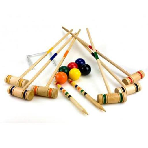 Sunnywood, Inc. 4353 Sterling Sports 6 Player Croquet Set