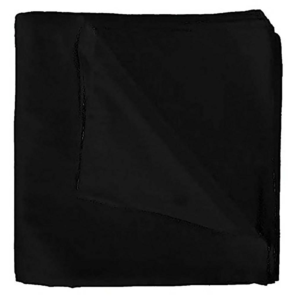 9 Pack Extra Large 100% Cotton Plain Bandanas 27 x 27 Inches - Great For Party and Decoration - Bulk Dozen