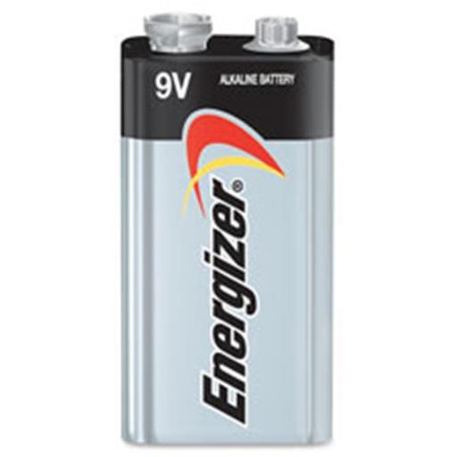 Eveready Battery EVE522BP4 Energizer Max Alkaline 9 V Battery - Black with Aluminum