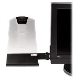 3m mobile interactive solution dh445 3m document holder dh445 - flat panel - black