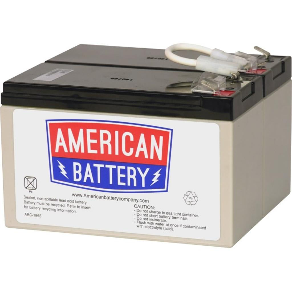 American battery rbc109 rbc109 replacement battery pk