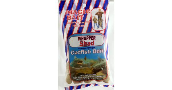 Magic catfish bait mb whopper shad and fish