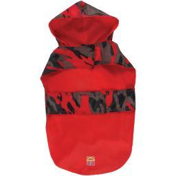 "Jelly Wellies Camouflage Raincoat Small 13""-red"