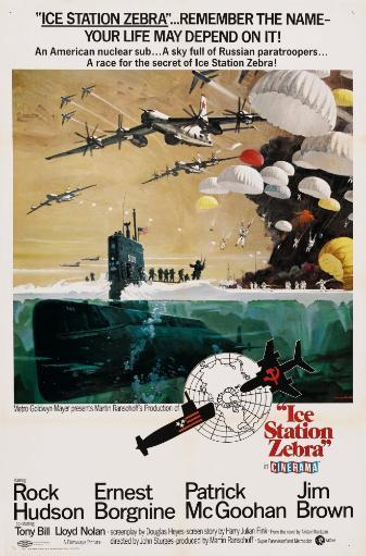 Ice Station Zebra Us Poster 1968 Movie Poster Masterprint SYAHCEBAXJMQPTTU