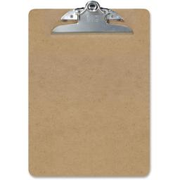 Recycled Clipboard Letter - Pack of 3, Brown