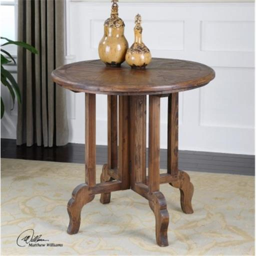 Uttermost 24372 Uttermost Imber Round Accent Table