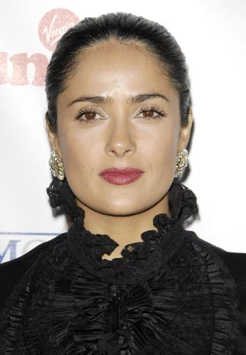 Salma Hayek At Arrivals For Sir Richard Branson Charity Event 'Rock The Kasbah' Benefiting Virgin Unite, Hollywood Roosevelt Hotel, Hollywood, Ca.