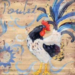 Royale Rooster IV Poster Print by Paul Brent PDXBNT233LARGE