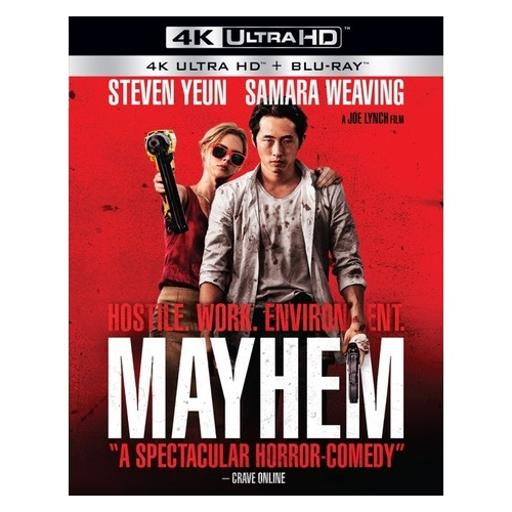 Mayhem (blu ray/4kuhd/ultraviolet/digital hd) UOIXHZJ37MX9ATQW