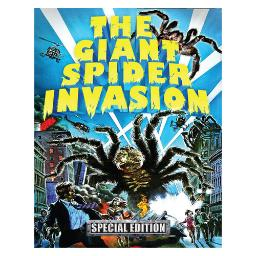 Giant spider invasion (blu-ray/dvd combo pack w/cd/3 disc/ws) BR2504
