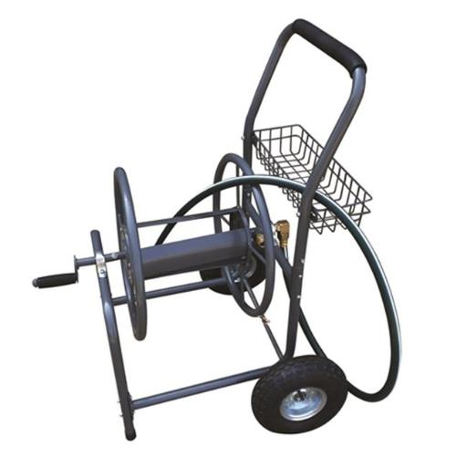Hose Reel Cart Outdoor Power Equipment Lawn Sweeper