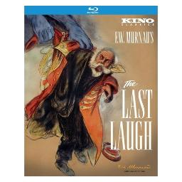Last laugh (blu-ray/1924/b&w/2 disc/ff 1.33) BRK21545