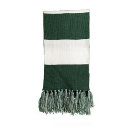 STA02 Spectator Scarf, Forest Green & White - One Size MK498773