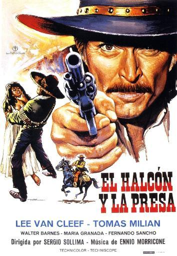 The Big Gundown Lee Van Cleef On Spanish Poster Art 1966 Movie Poster Masterprint