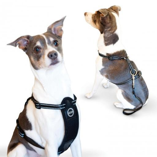 K & H Pet Products 7834 Black K & H Pet Products Travel Safety Pet Harness Extra Large Black